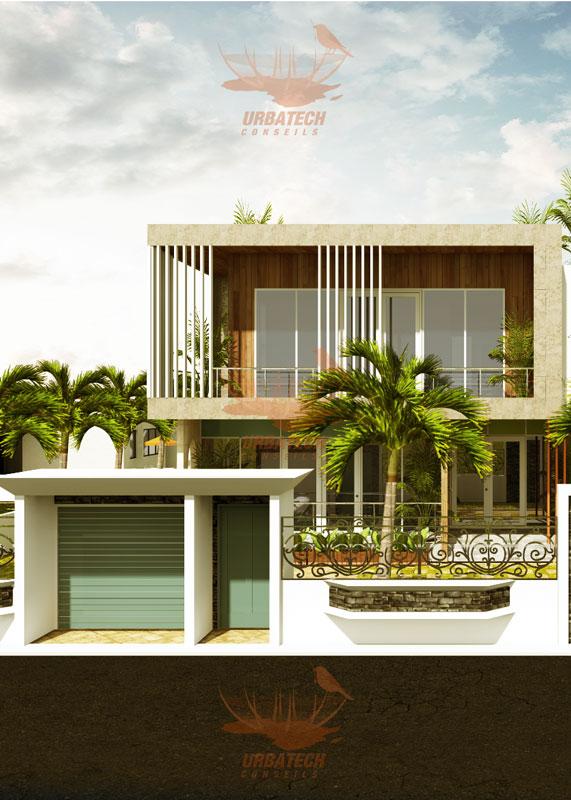 Projet Urbatech cabinet d'architecture au Cameroun